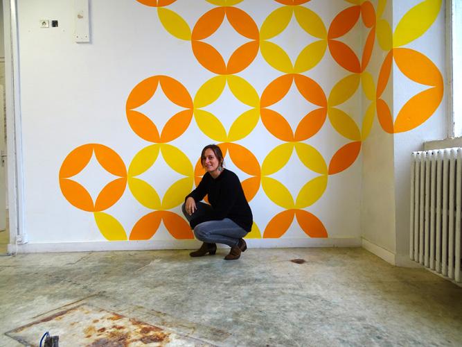 Gallery of wallpaper peinture murale htel pasteur marine for Peintures murales ikea